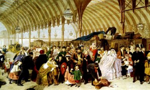the-railway-station-by-william-powell-frith-ra-signed-and-dated-18622