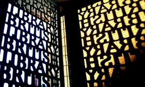 British_Library_Gate_Shadow