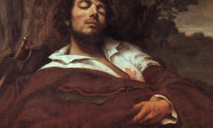 Courbet_Gustave_Wounded_Man_1844-45