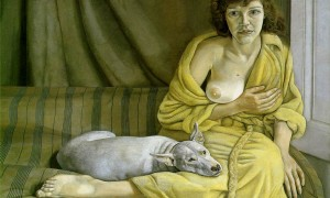 freud.girl-white-dog